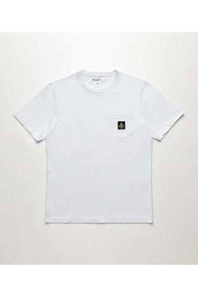 Refrigiwear T-shirt   Pierce t-shirt Uomo Bianco Fashion