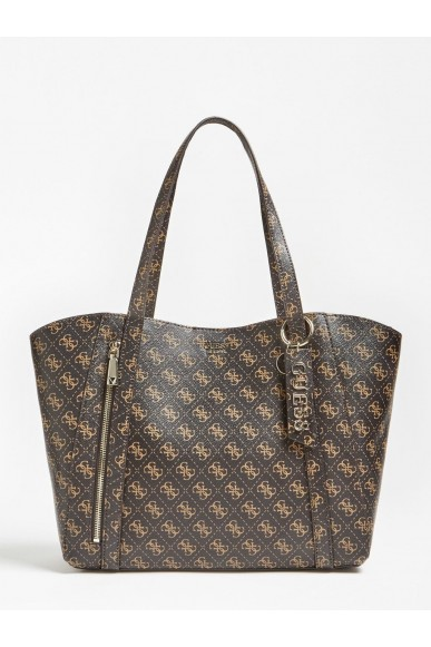Guess Tracolle   Naya trap tote Donna Marrone Fashion