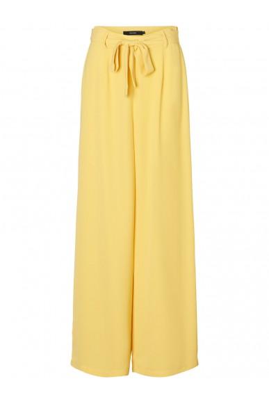 Vero moda Pantaloni Donna Crema Casual