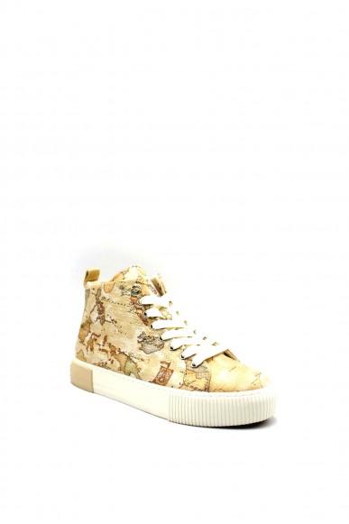1^classe  Sneakers F.gomma 0875 Donna Beige Fashion