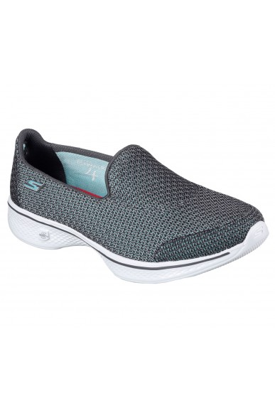 Skechers Slip-on F.gomma 35/41 Donna Gry Sportivo