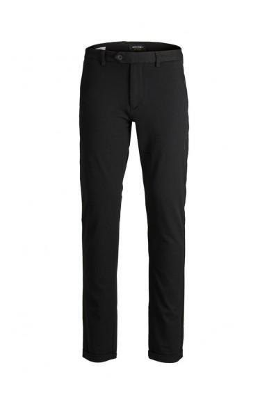 Jackejones Pantaloni   Jjimarco jjconnor akm 769  black no Uomo Nero Fashion