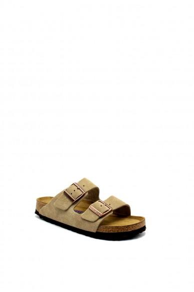 Birkenstock Sandali F.gomma Arizona bi-classic Donna Beige Fashion