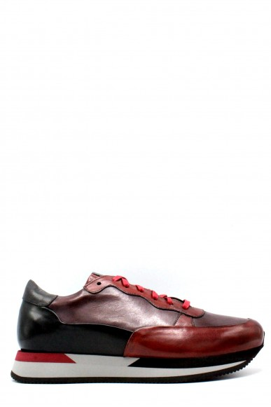 Brecos Sneakers F.gomma 41-44 made in itlay Uomo Rosso Fashion