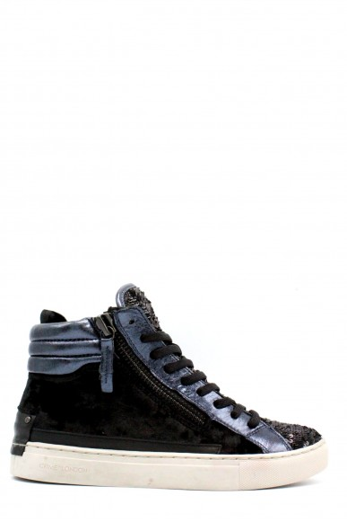 Crime Sneakers F.gomma 36-41 Donna Nero Fashion