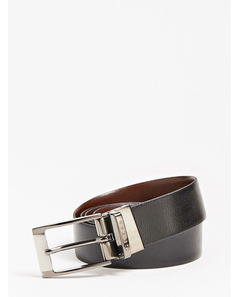 Guess Cinture   Reversible and adjustable belt Uomo Nero Fashion