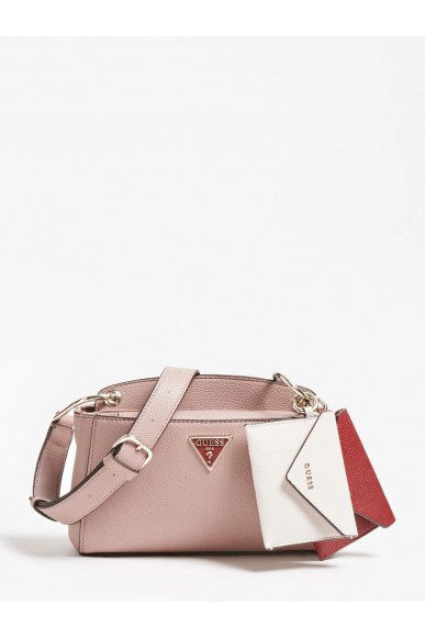 Guess Tracolle   Kirby mini crossbody Donna Rosa Fashion