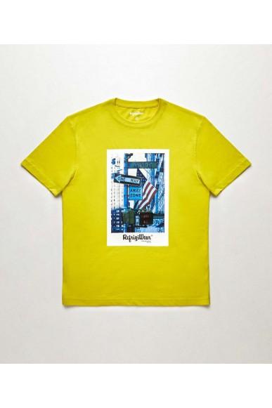 Refrigiwear T-shirt   Prince t-shirt Uomo Giallo Fashion