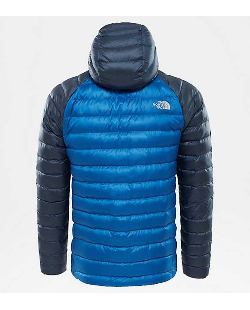 The north face Giacche   M trevail hoodie turkish sea/urb Uomo Blu Casual