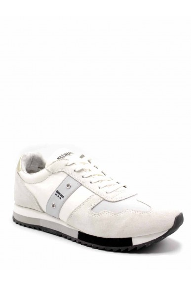 Blauer Sneakers F.gomma Melrose01 Donna Bianco Fashion