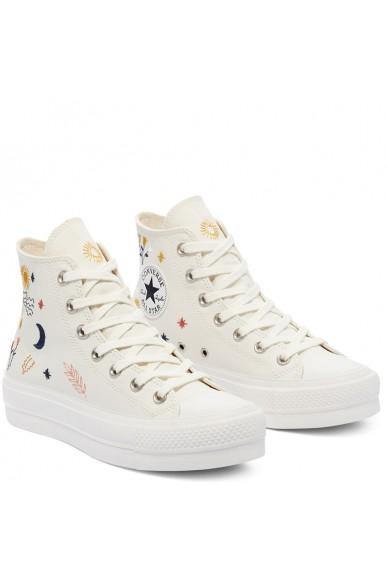 Converse Sneakers F.gomma Ctas lift hi Donna Bianco Fashion