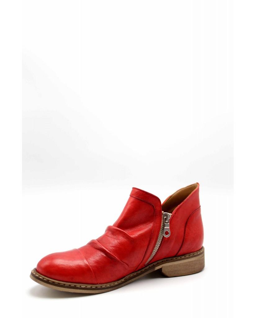 Brando Stivaletti F.gomma Oxi18 Donna Rosso Fashion