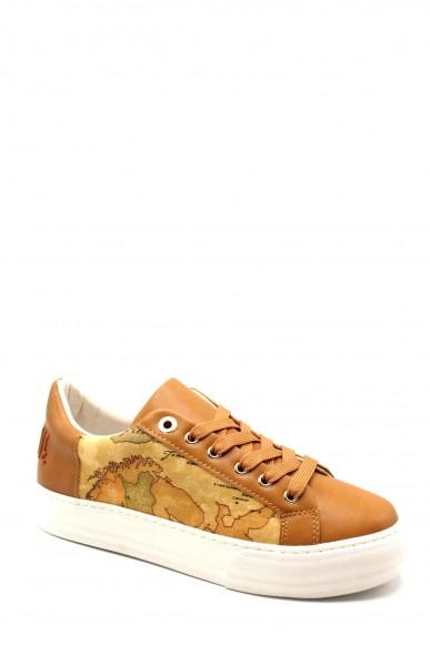 1^classe  Sneakers F.gomma Scarpa Donna Cuoio Fashion
