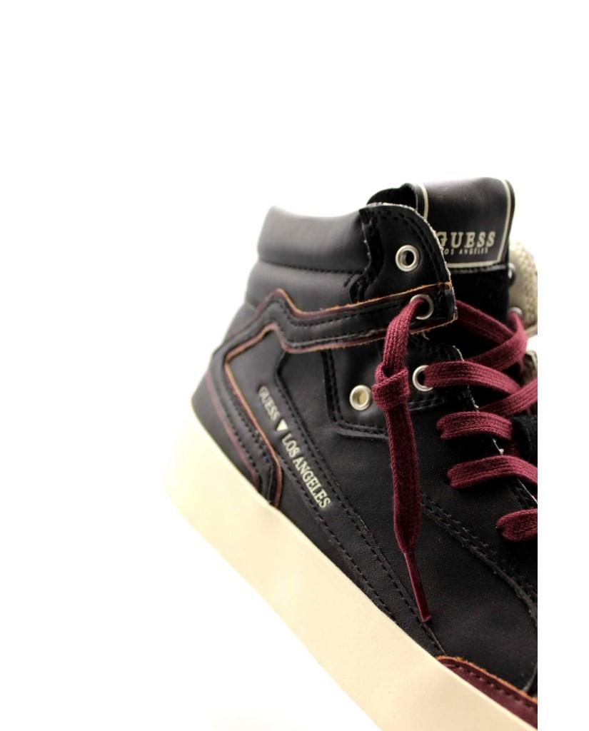 Guess Sneakers F.gomma Lodi mid Uomo Nero Fashion