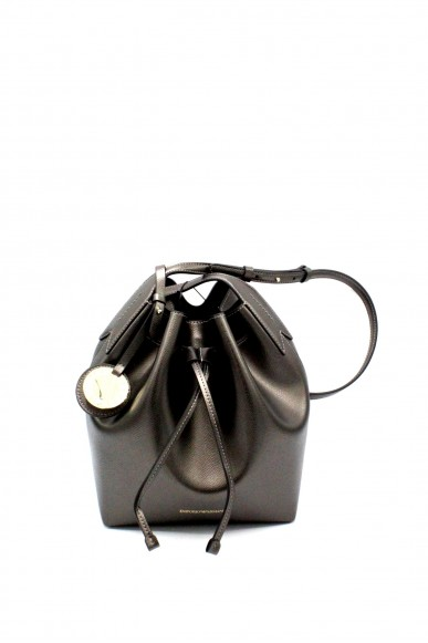 Emporio armani Borse - Bucket bag fancy purp y3e080 yh15a Donna Acciaio/nero Fashion