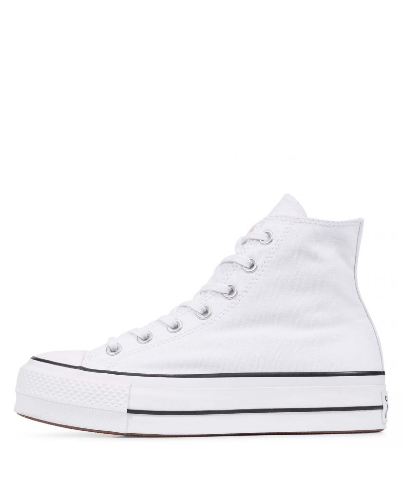 Converse Sneakers F.gomma Chuck taylor all star lift Donna Bianco Fashion