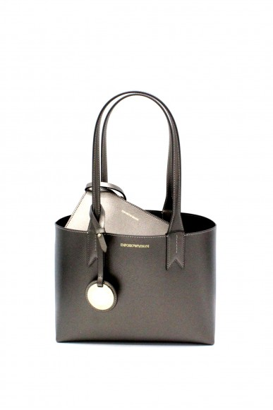 Emporio armani Borse - Minidollaro shoppingdandelion y3d080 yh15a Donna Acciaio/nero Fashion