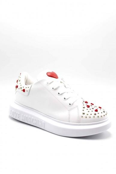 Moschino Sneakers F.gomma Sneakerd.gomma40 vitello bianco Donna Bianco Fashion