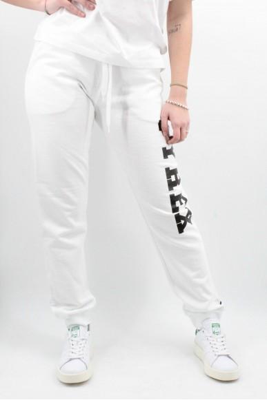 Pyrex Pantaloni   Pantalone donna in felpa Donna Bianco Fashion