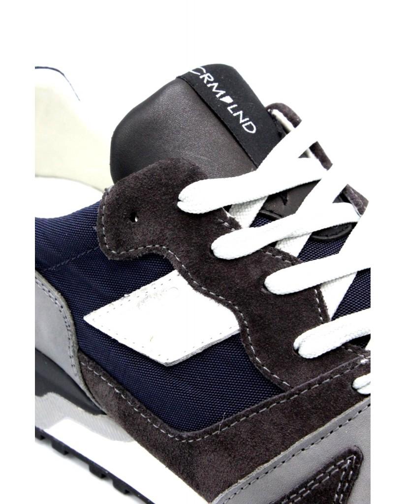 Crime london Sneakers F.gomma 40-45 11405ks1.30 ss18 Uomo Grigio Casual