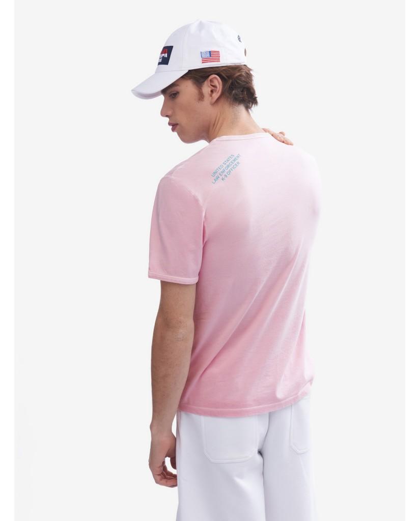 Blauer T-shirt   T-shirt manica corta Uomo Rosa Fashion