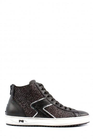 Nero giardini Sneakers F.gomma Caracas nero velour nero x paille t Donna Nero Fashion