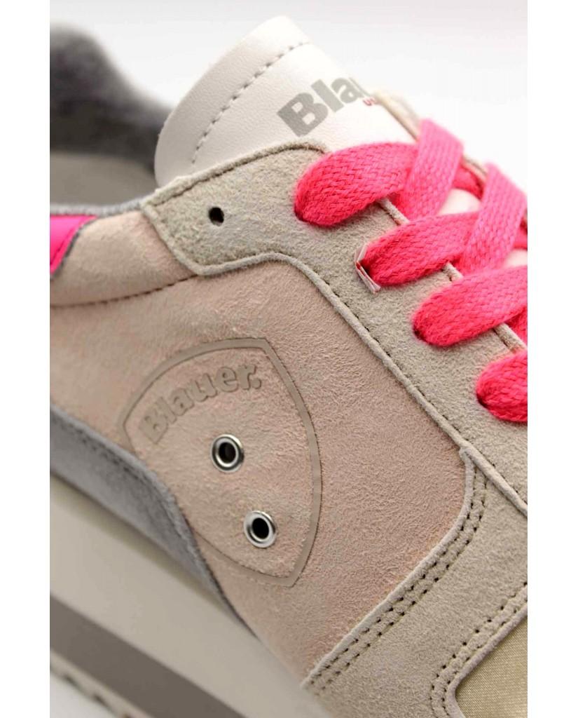 Blauer Sneakers F.gomma Charlotte01 Donna Fucsia Fashion