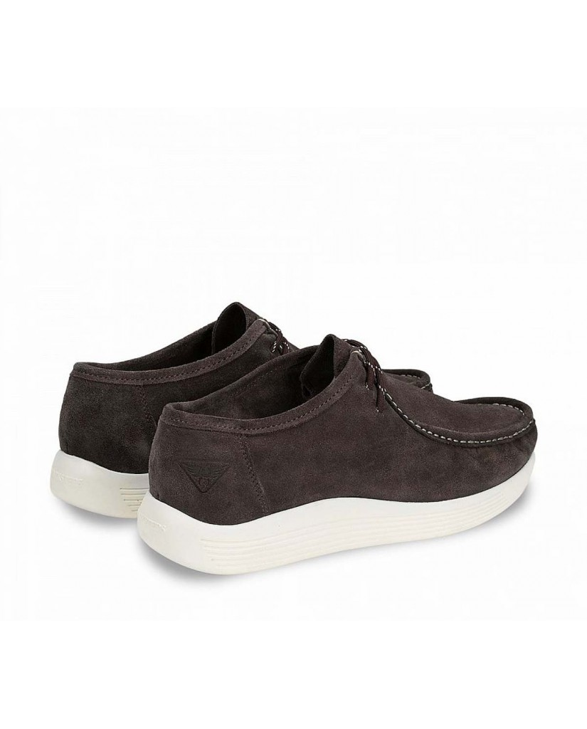 Docksteps Polacchine F.gomma Independent low m 008 suede mud Uomo Fango Casual