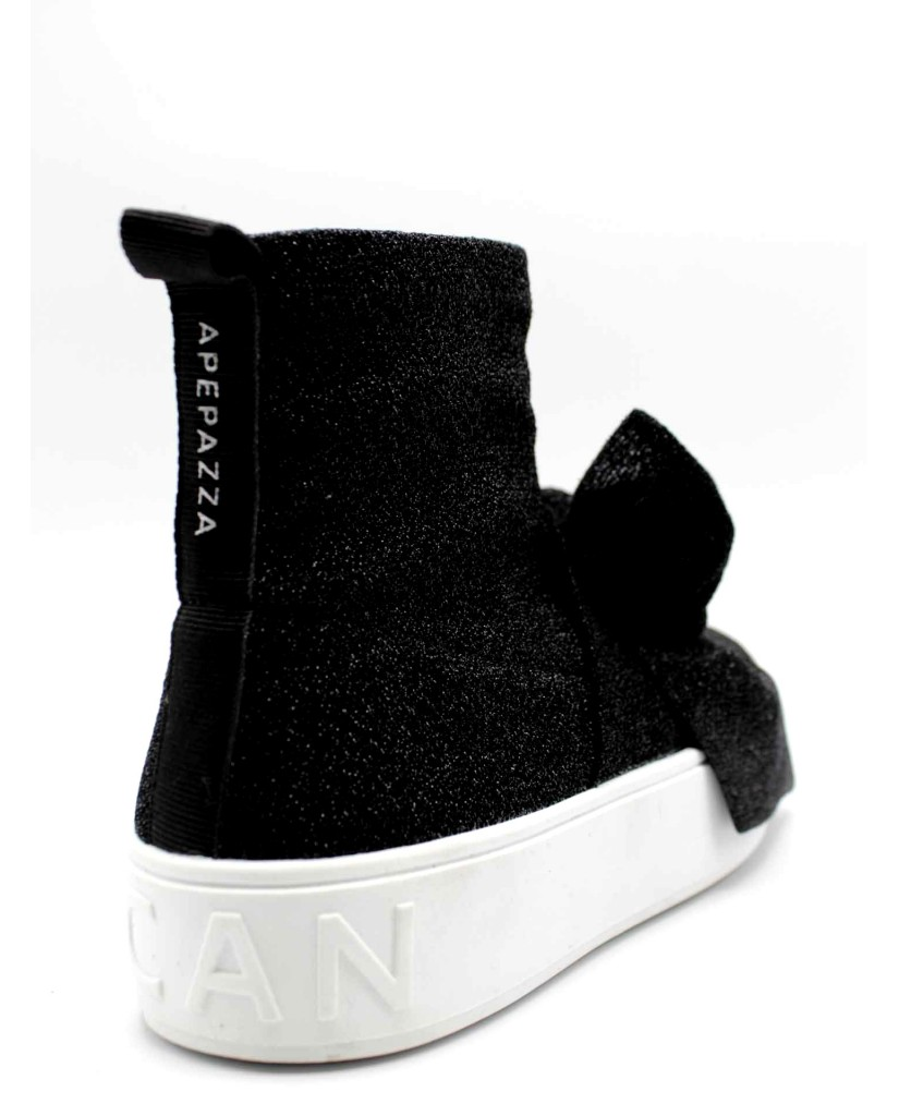 Ape pazza Sneakers F.gomma Iside Donna Nero Fashion