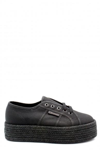 Superga Sneakers F.gomma 35/41 2790 cotcoloropew ss18 Donna Nero Sportivo