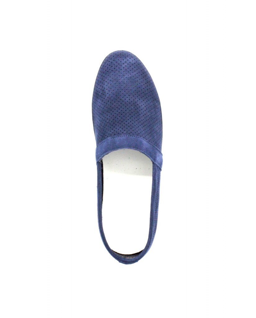 Bottega marchigiana Slip-on F.gomma 40/45 sbm14 made in italy Uomo Blu Fashion