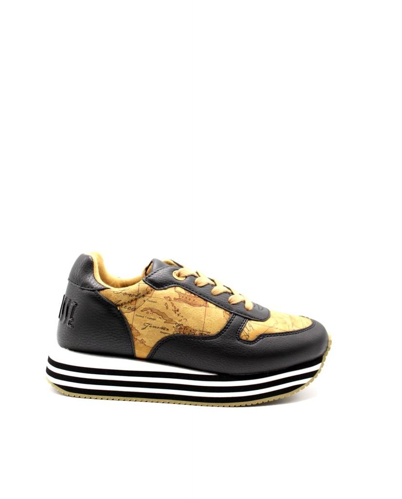 1^classe  Sneakers F.gomma In07110208 Donna Nero Fashion