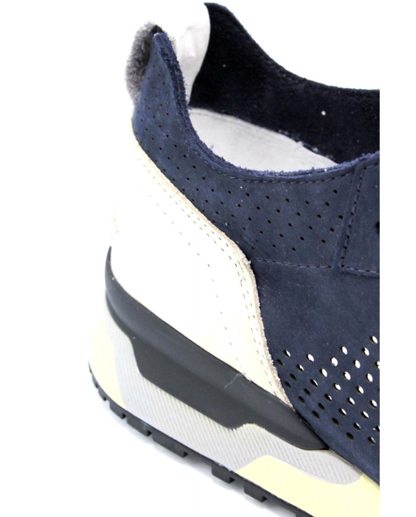 Crime london Sneakers F.gomma 40-45 11426ks1.40 Uomo Blu Casual