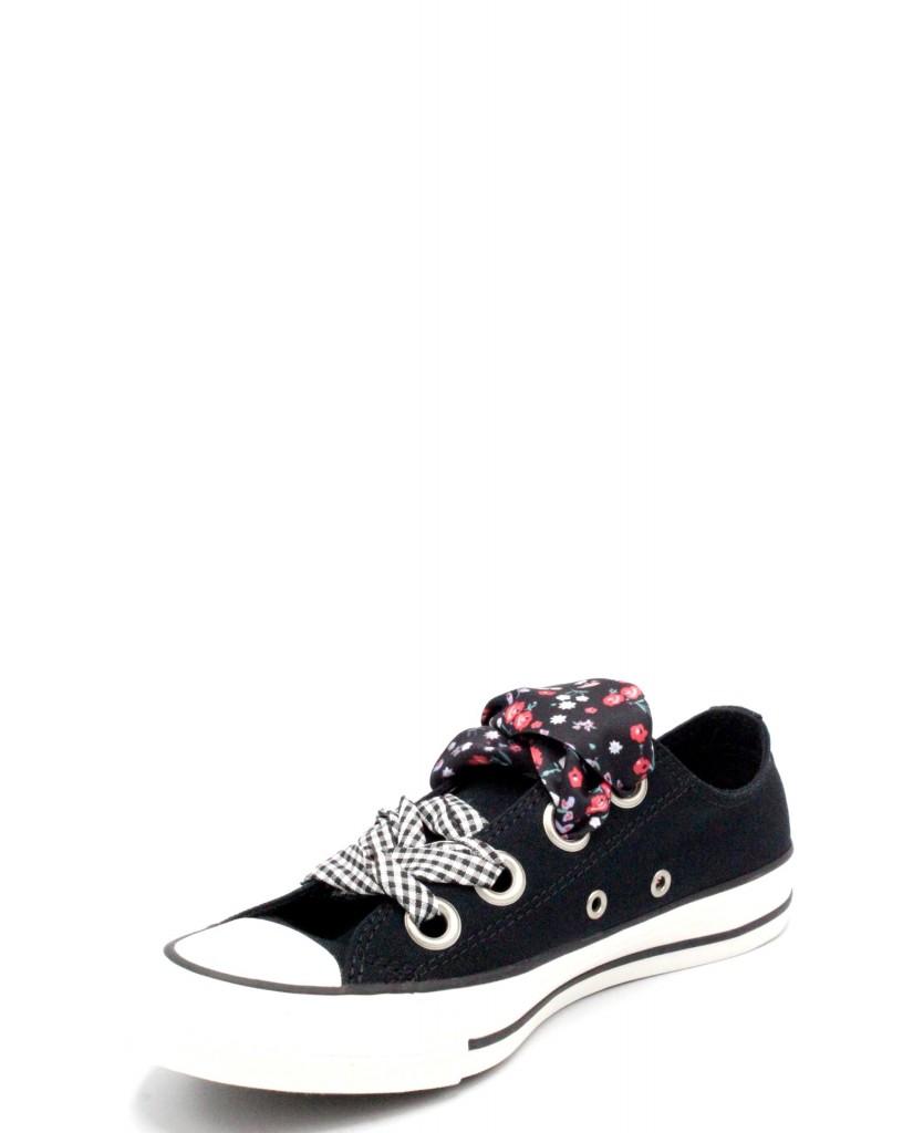 Converse Sneakers F.gomma 36/41 chuck taylor low 2018 Donna Nero-bianco Sportivo
