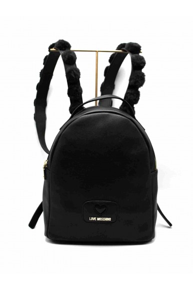 Moschino Backpacks   Borsa pu+poliestere nero Donna Nero Fashion
