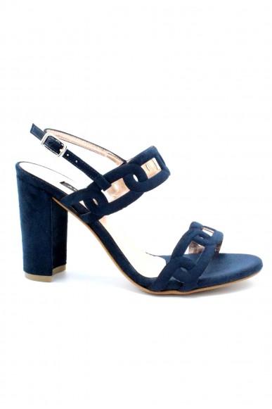 Albano Sandali F.cuoio 35/41 made in italy Donna Blu Elegant