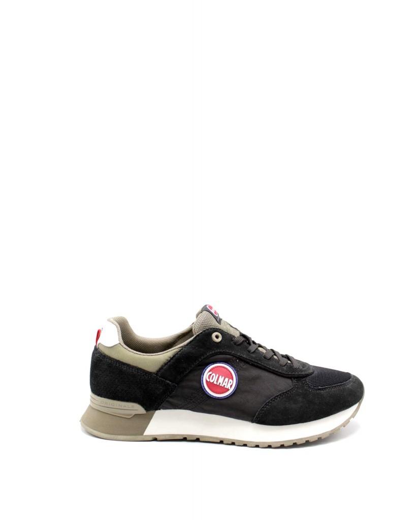 Colmar Sneakers F.gomma Uomo Nero Fashion