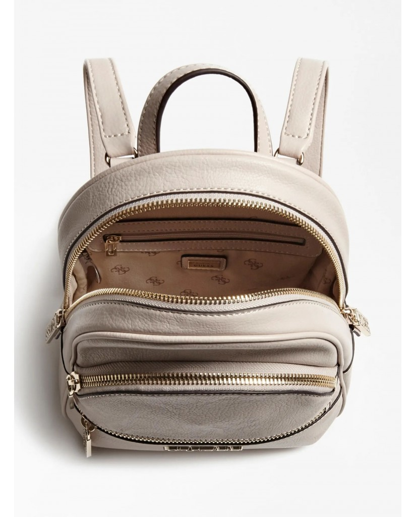 Guess Backpacks   Manhattan small backpack Donna Grigio Fashion