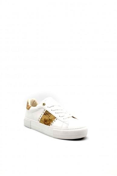 1^classe  Sneakers F.gomma 0880 Donna Bianco Fashion