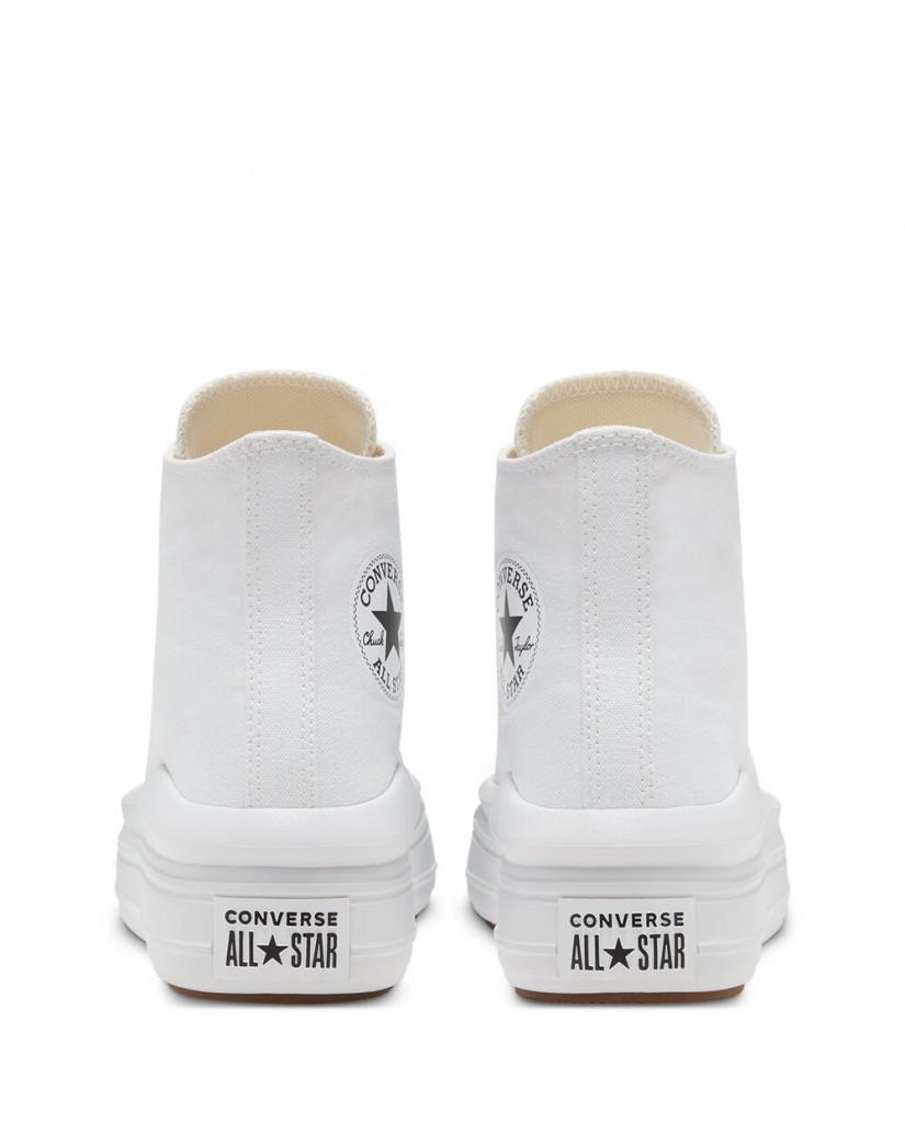 Converse Sneakers F.gomma Ctas move hi Donna Bianco Fashion