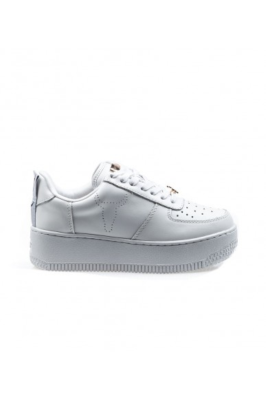 Windsor smith Sneakers F.gomma Racerr leather white Donna Bianco Fashion