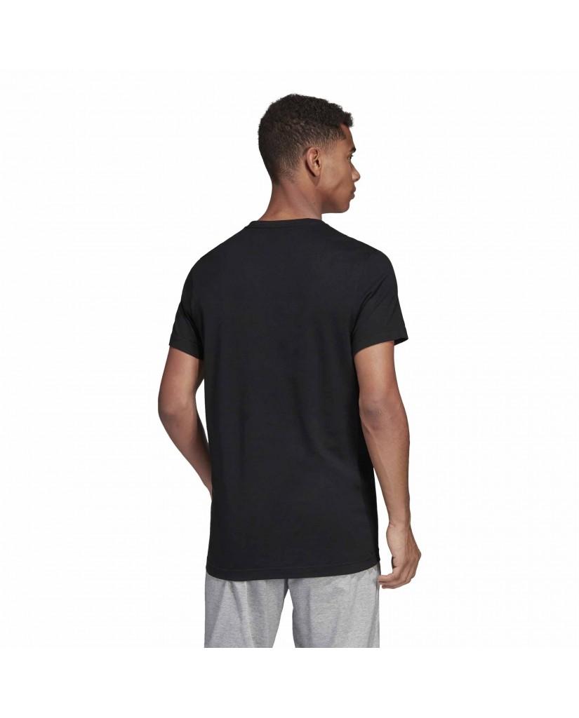 Adidas T-shirt   E lin scatter t     black Uomo Nero Sportivo