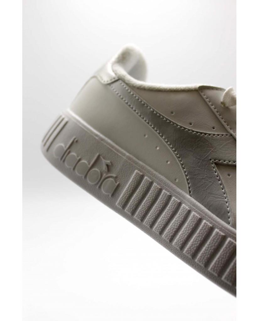 Diadora Sneakers F.gomma Game p step Donna Bianco-argento Sportivo