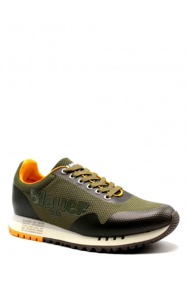 Blauer Sneakers F.gomma Denver01 Uomo Verde Fashion