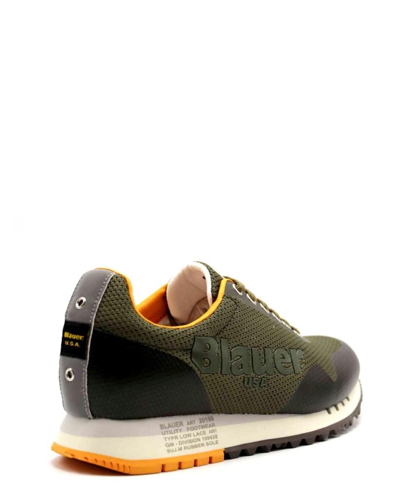 Blauer Sneakers F.gomma Denver01 Uomo Verde Fashion