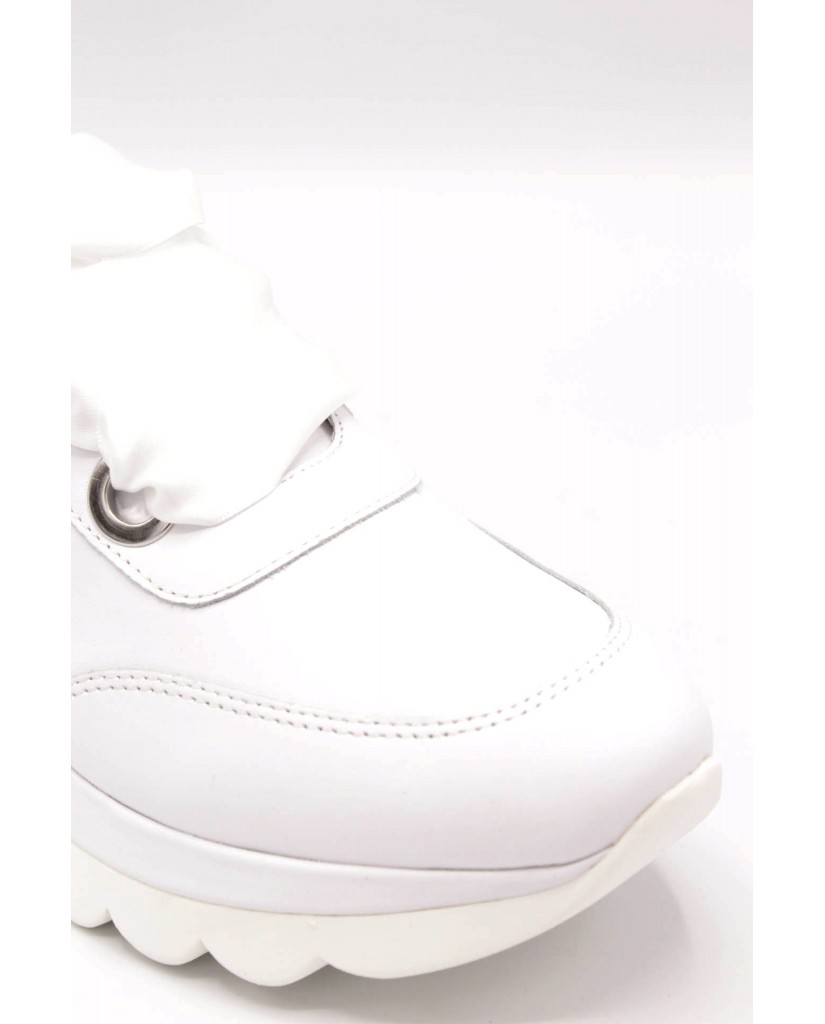 Cafe' noir Sneakers F.gomma 35/41 db131 Donna Bianco Fashion