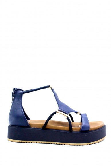 Inuovo Sandali F.gomma 35/41 Donna Blu Fashion