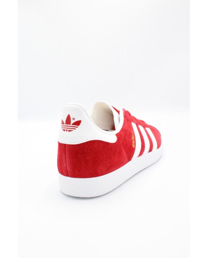 Adidas Sneakers F.gomma 39/46 gazelle Uomo Red/white Sportivo
