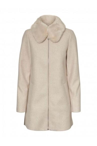 Vero moda Giubbotti   Vmmollymy jacket Donna Beige Fashion