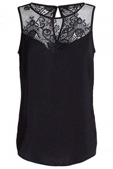 Guess Top   Sl scarlet top Donna Nero Fashion